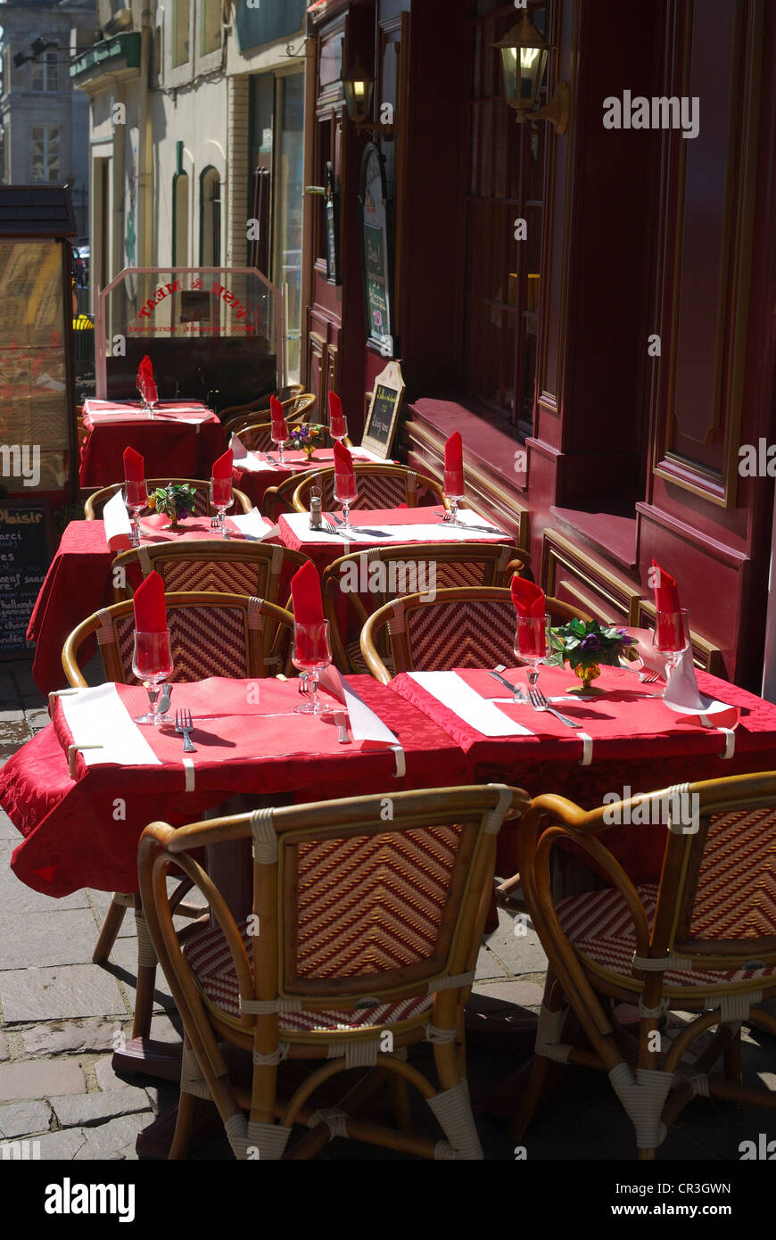 Restaurant In Boulogne Sur Mer High Resolution Stock Photography