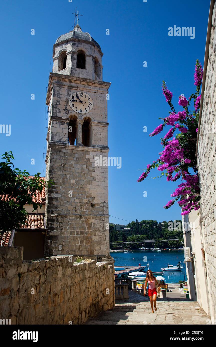 Croatia, Dalmatia, Dalmatian Coast, Cavtat - Stock Image