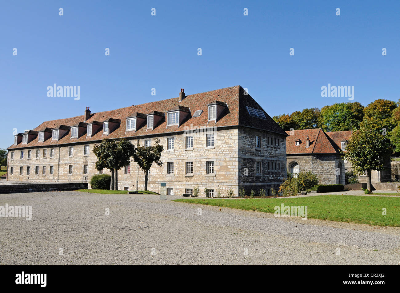 Fort Griffon, fortifications of Vauban, UNESCO World Heritage Site, Besancon, department of Doubs, Franche-Comte, - Stock Image