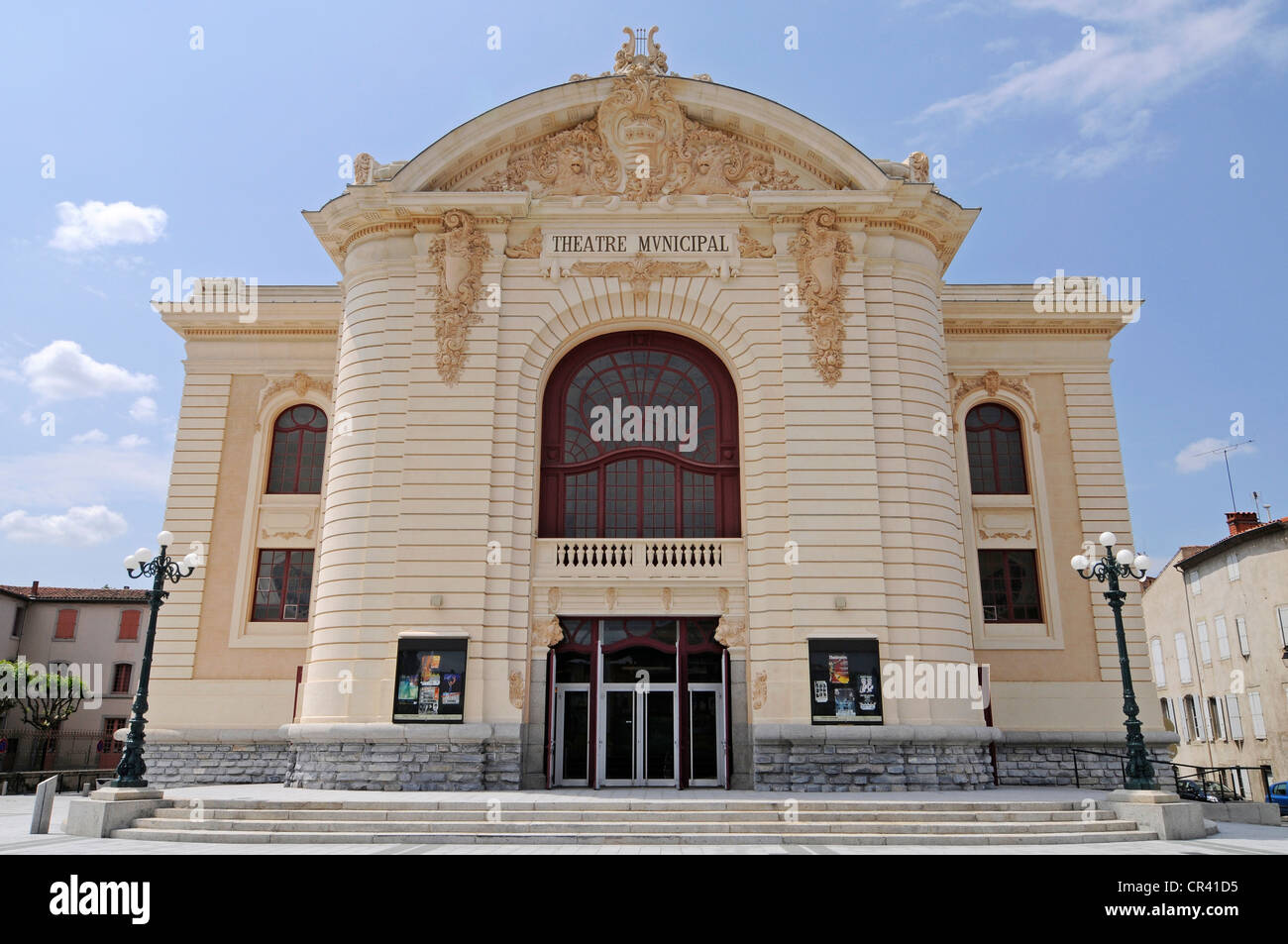 Theater, Castres, Departement Tarn, Midi-Pyrenees, France, Europe - Stock Image