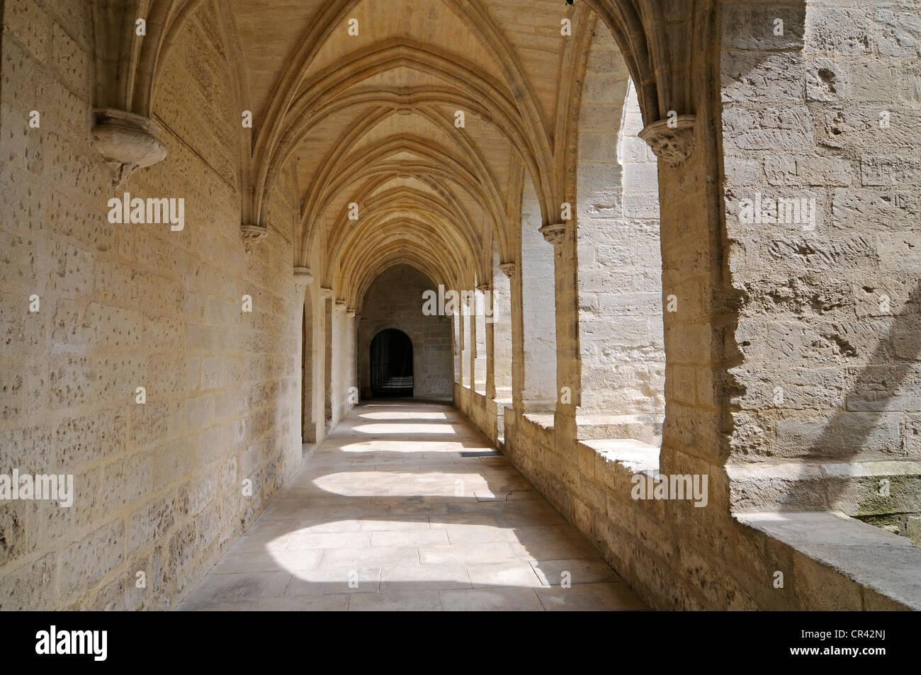 Chartreuse du Val de Benediction, Carthusian monastery, church, museum, Villeneuve les Avignon, Languedoc-Roussillon - Stock Image
