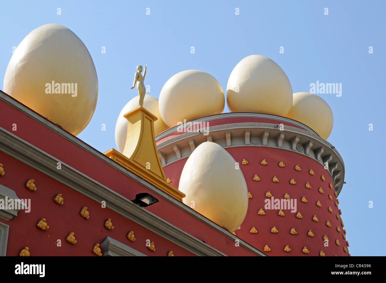 Teatre-Museu Dalí or Dalí Theatre and Museum, Figueres, Costa Brava, Catalonia, Spain, Europe - Stock Image
