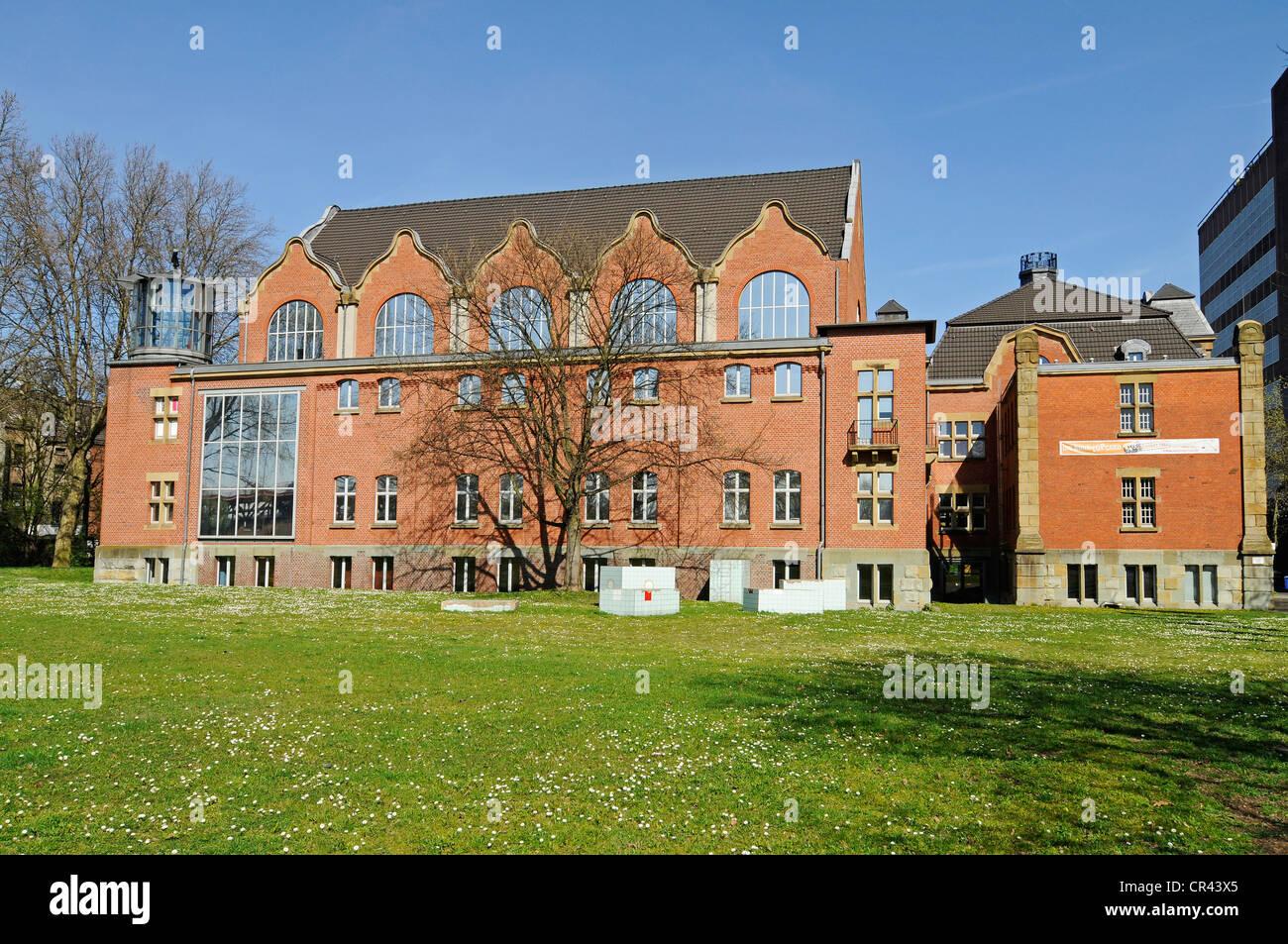 Museum of German Inland Navigation, Duisburg-Ruhrort, Duisburg, Ruhrgebiet region, North Rhine-Westphalia, Germany, Europe Stock Photo