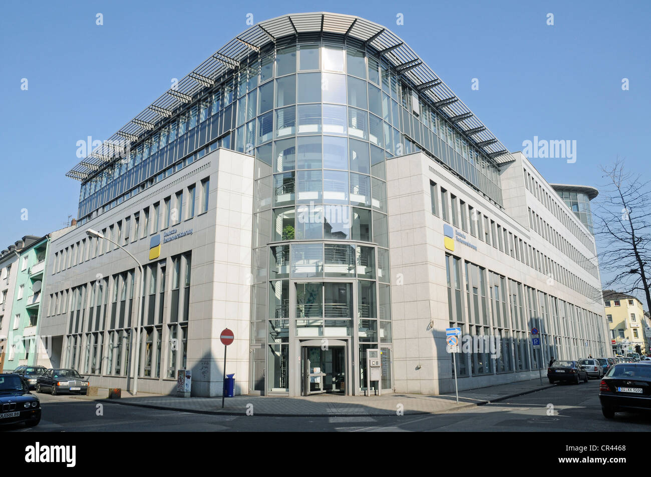 German pension insurance, Rhineland, Duisburg, Ruhrgebiet region, North Rhine-Westphalia, Germany, Europe Stock Photo