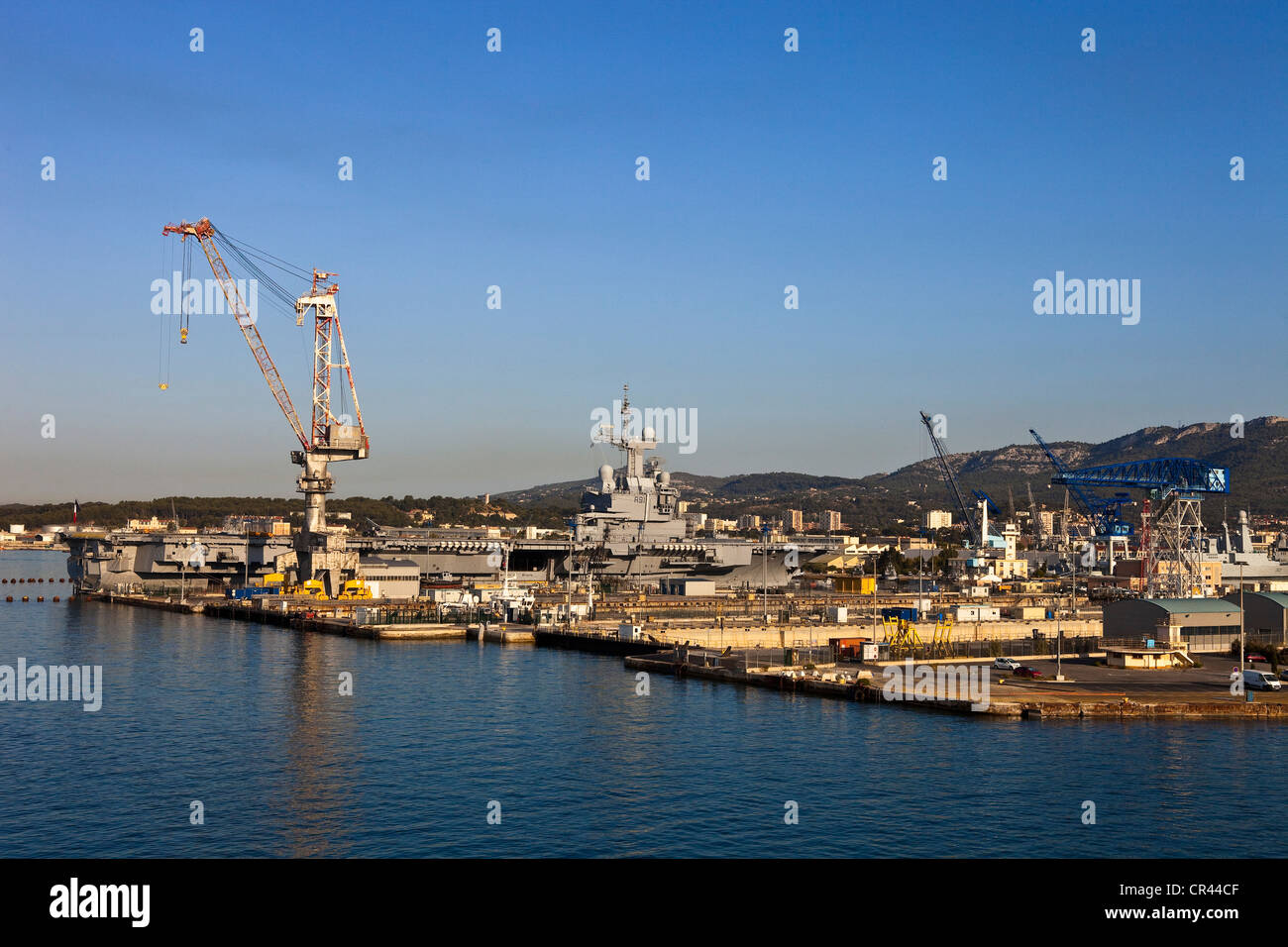 France, Var ( 83 ), Toulon, the naval base or the Arsenal - Stock Image
