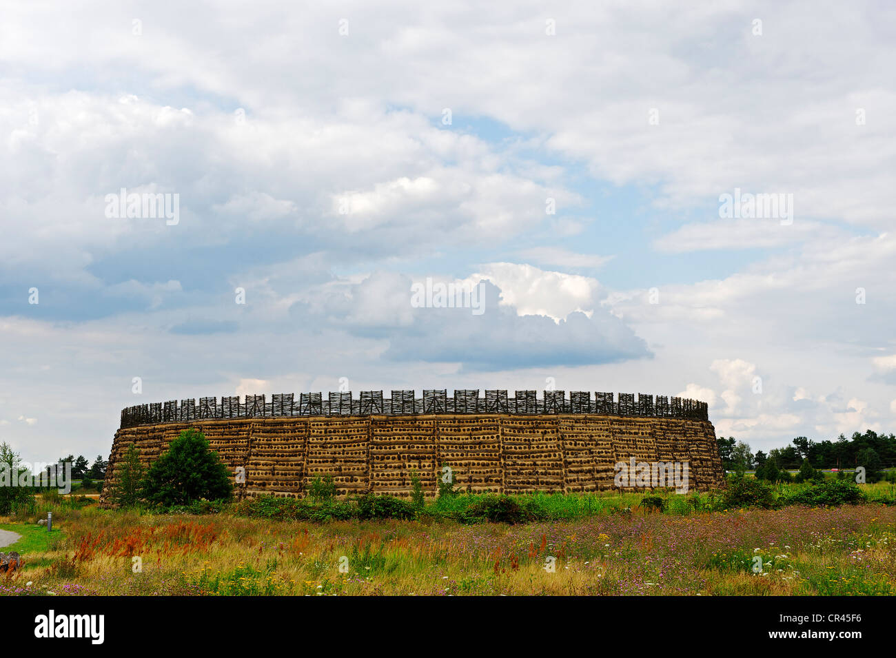 Slavic castle of Raddusch, Vetschau, Spreewald, Brandenburg, Germany, Europe Stock Photo
