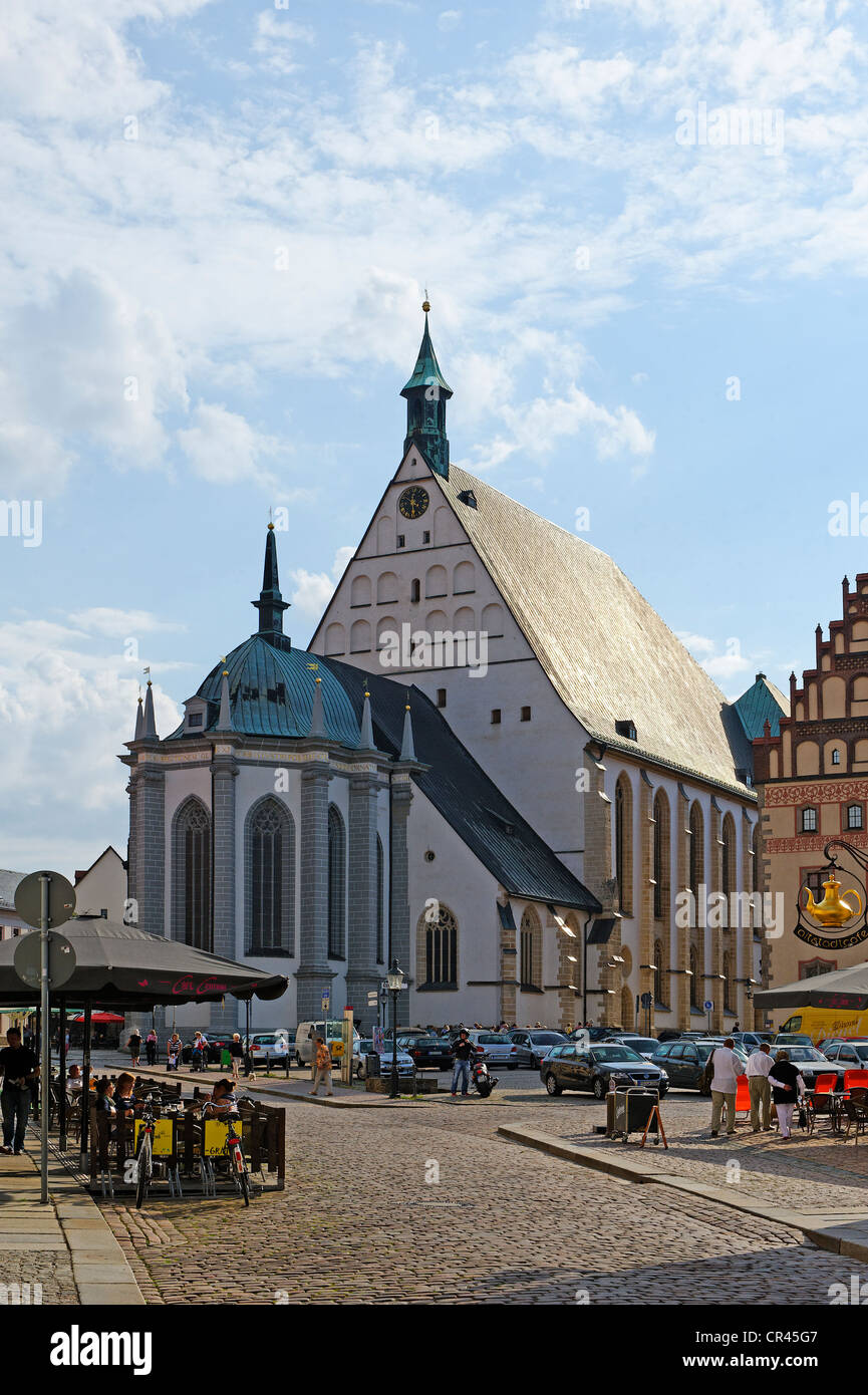 Cathedral, Freiberg, Saxony, Germany, Europe - Stock Image