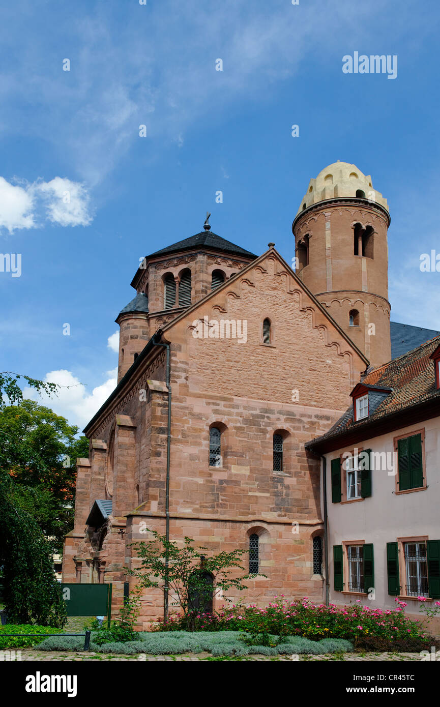 St. Paulus church, Worms, Rhineland-Palatinate, Germany, Europe - Stock Image