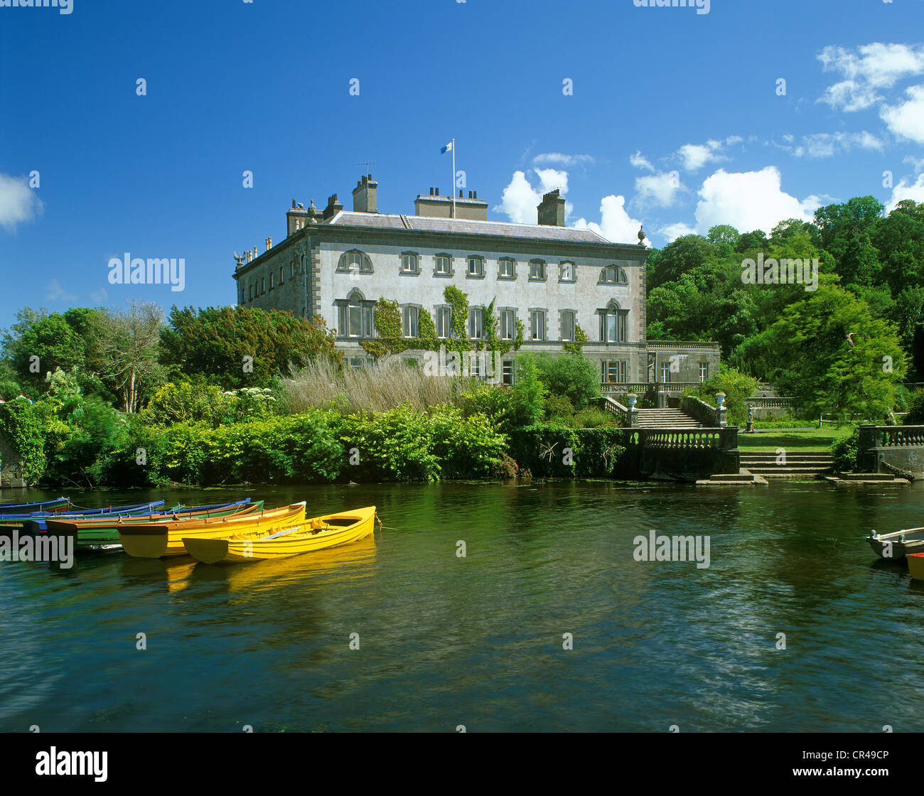 Westport House, County Mayo, Republic of Ireland, Europe - Stock Image