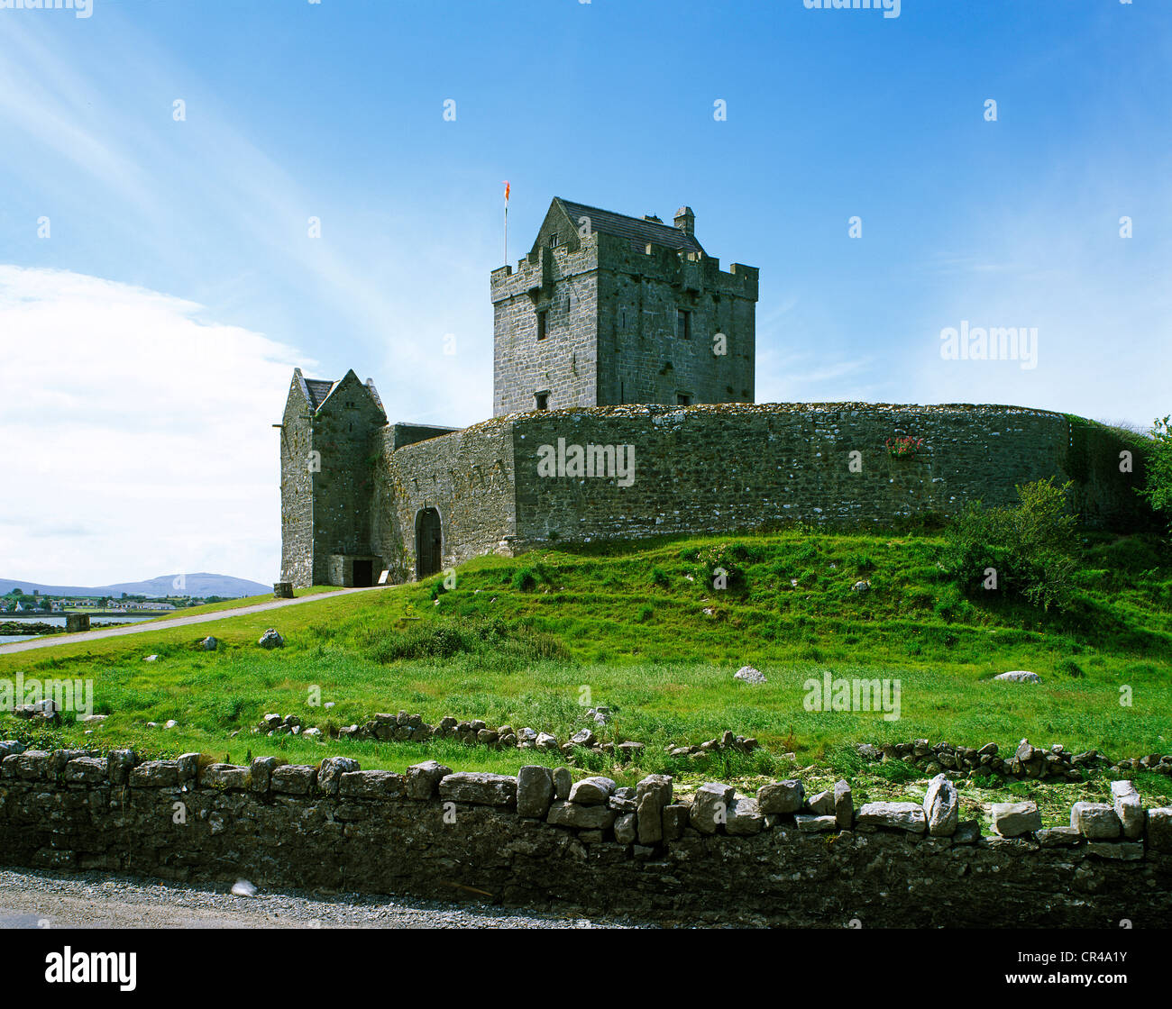 Dungaire Castle, Kinvarra, County Galway, Republic of Ireland, Europe - Stock Image