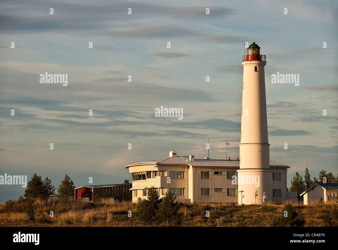 Finland, Gulf of Bothnia, Oulu Province, Hailuoto Island, lighthouse - Stock Image