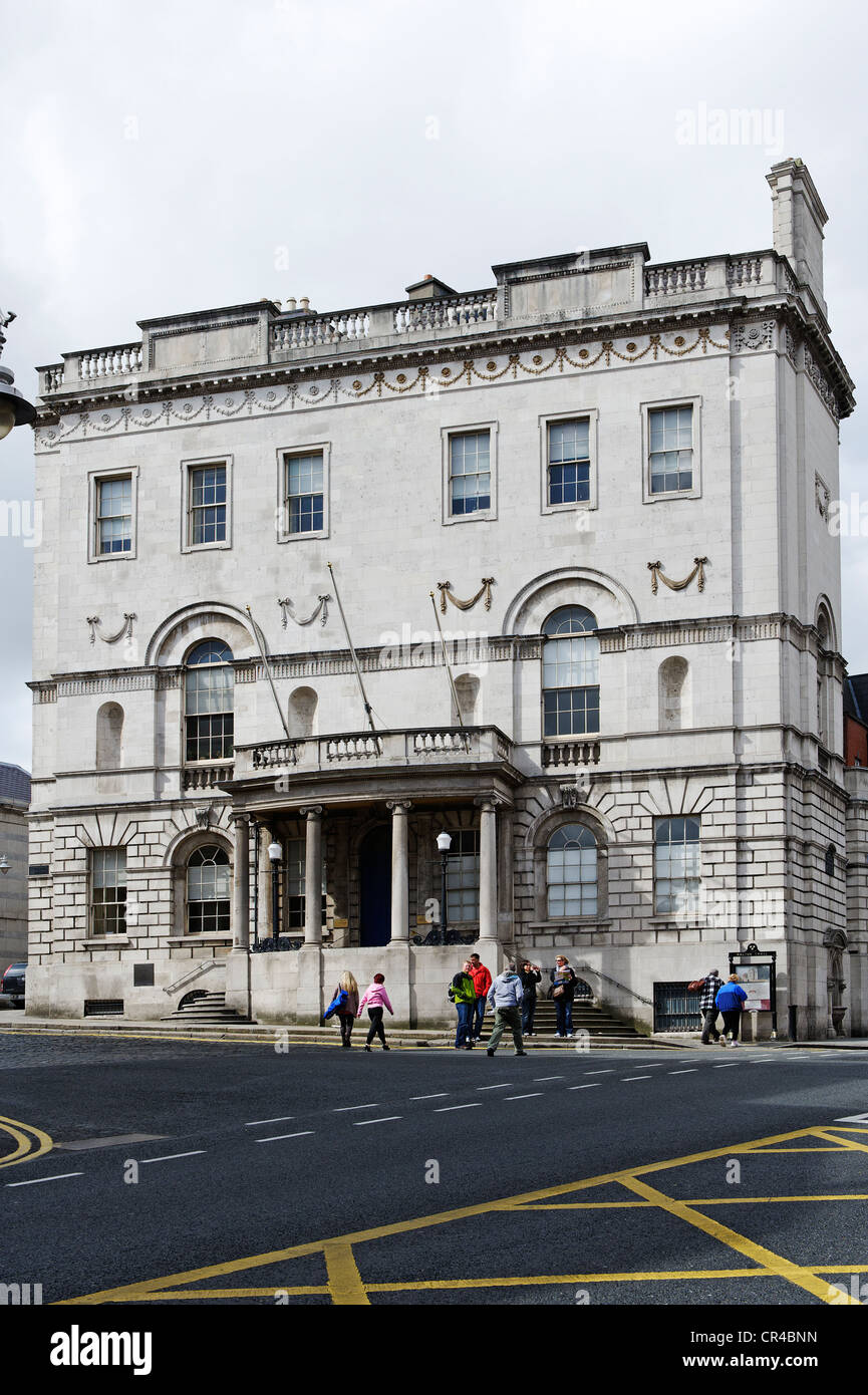 House in which the Republic of Ireland was foundet, Dublin, Republic of Ireland, Europe - Stock Image
