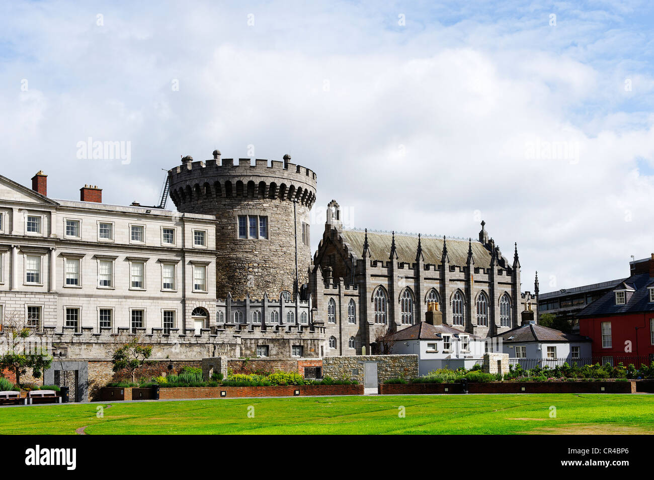 Dublin Castle, Dublin, Republic of Ireland, Europe - Stock Image