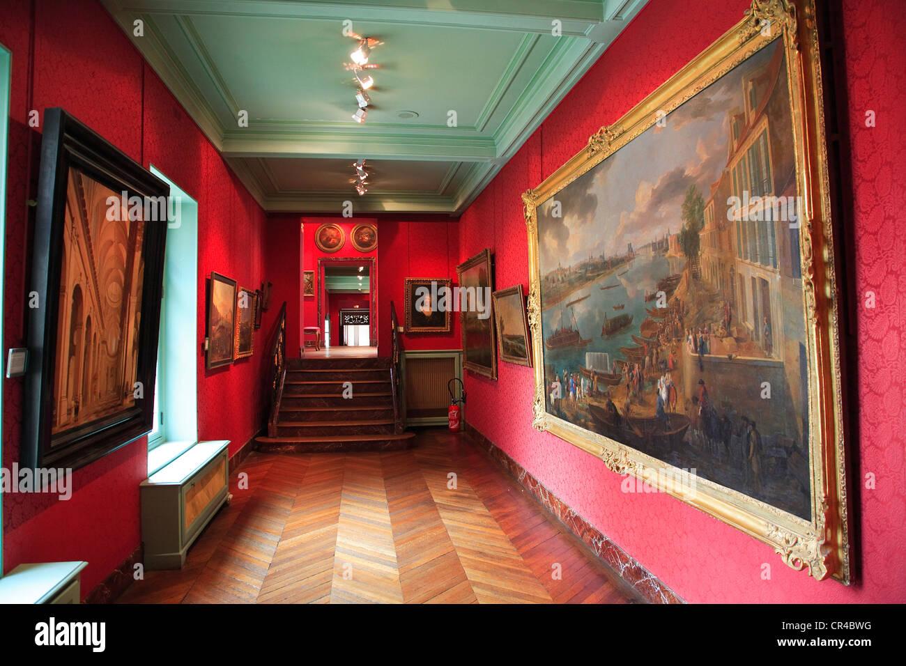 France, Paris, Marais District, Carnavalet Museum - Stock Image