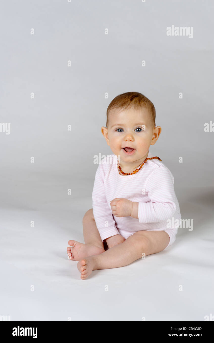 Baby, six months - Stock Image