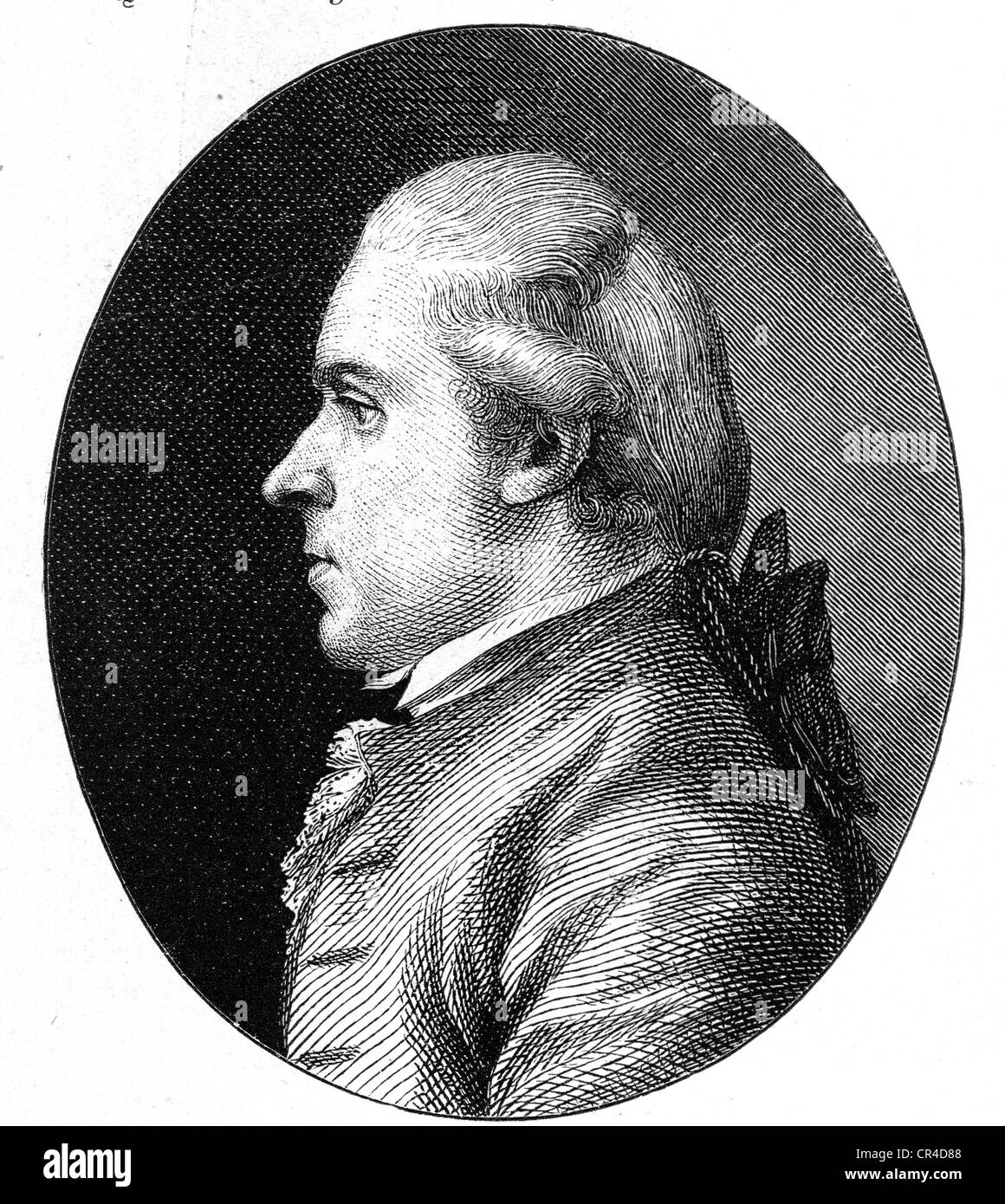 Johann Anton Leisewitz (1752-1806), writer, jurist - Stock Image
