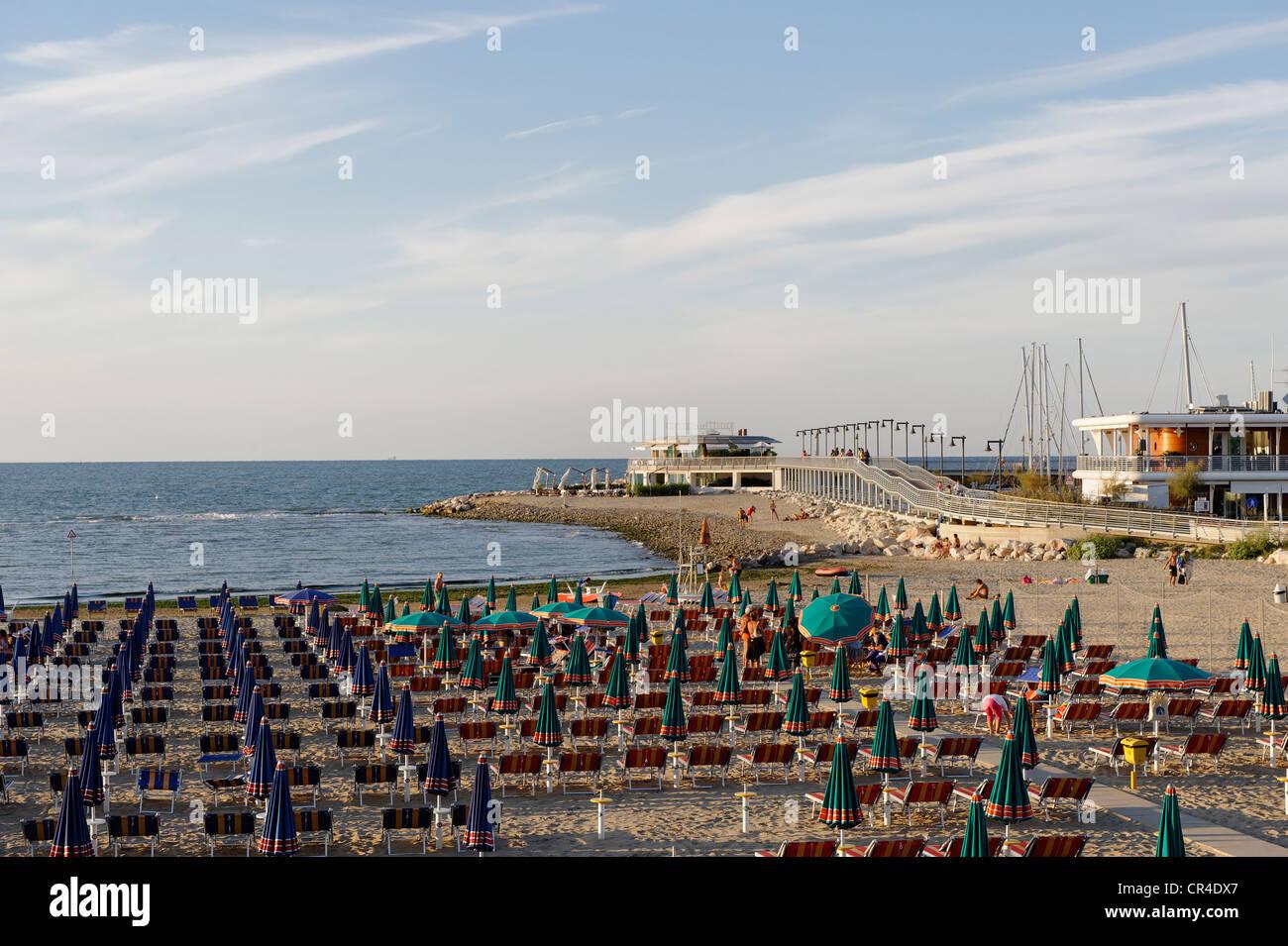 Cattolica, Province Rimini, Emilia-Romagna, Adriatic coast, Italy, Europe - Stock Image