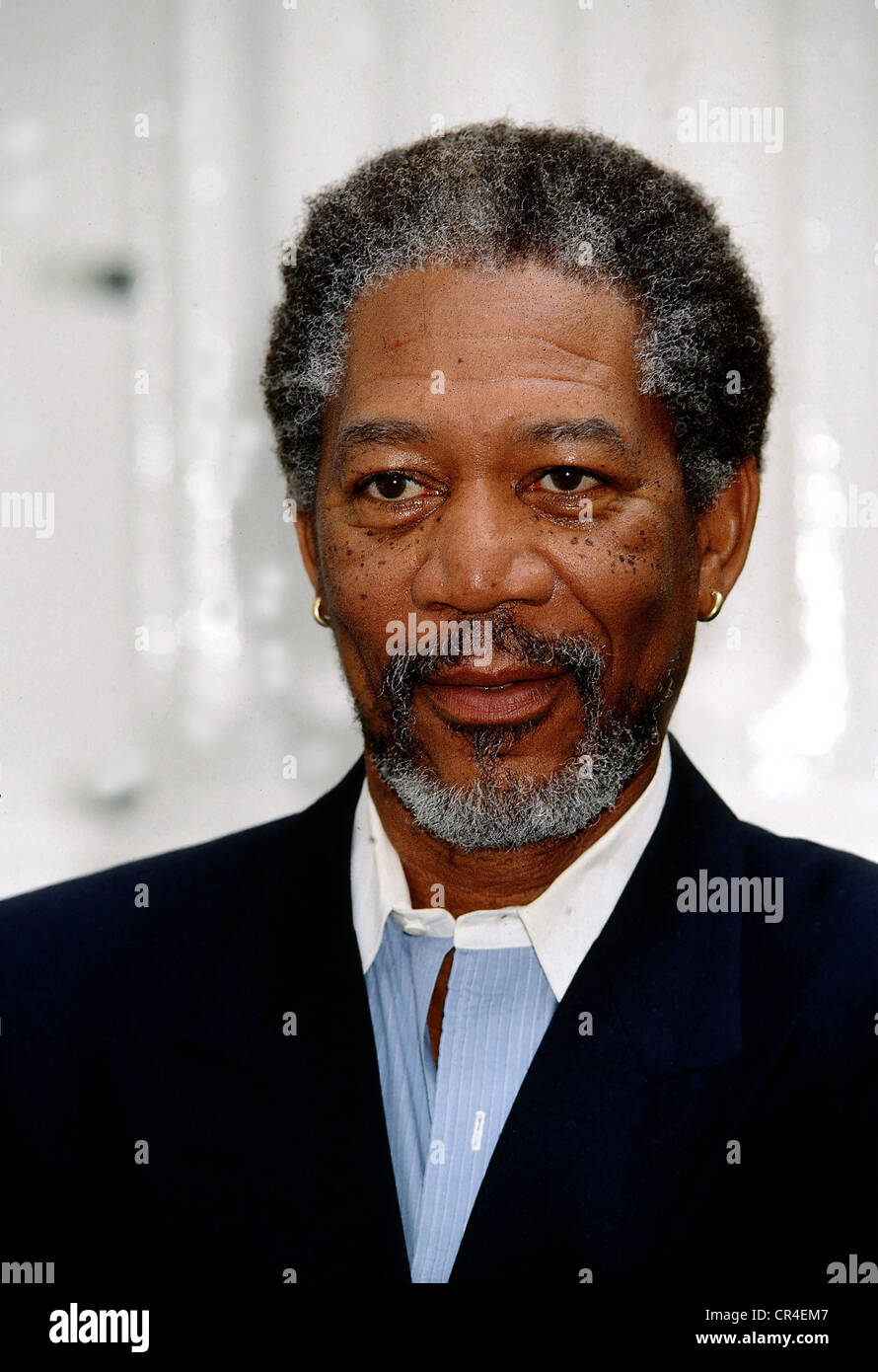 Freeman, Morgan, * 1.6.1937, US actor, portrait, 1994, Additional-Rights-Clearances-NA - Stock Image