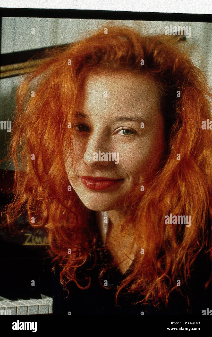 Amos, Tori, * 22.8.1963, US singer, portrait, circa 1992, Additional-Rights-Clearances-NA - Stock Image