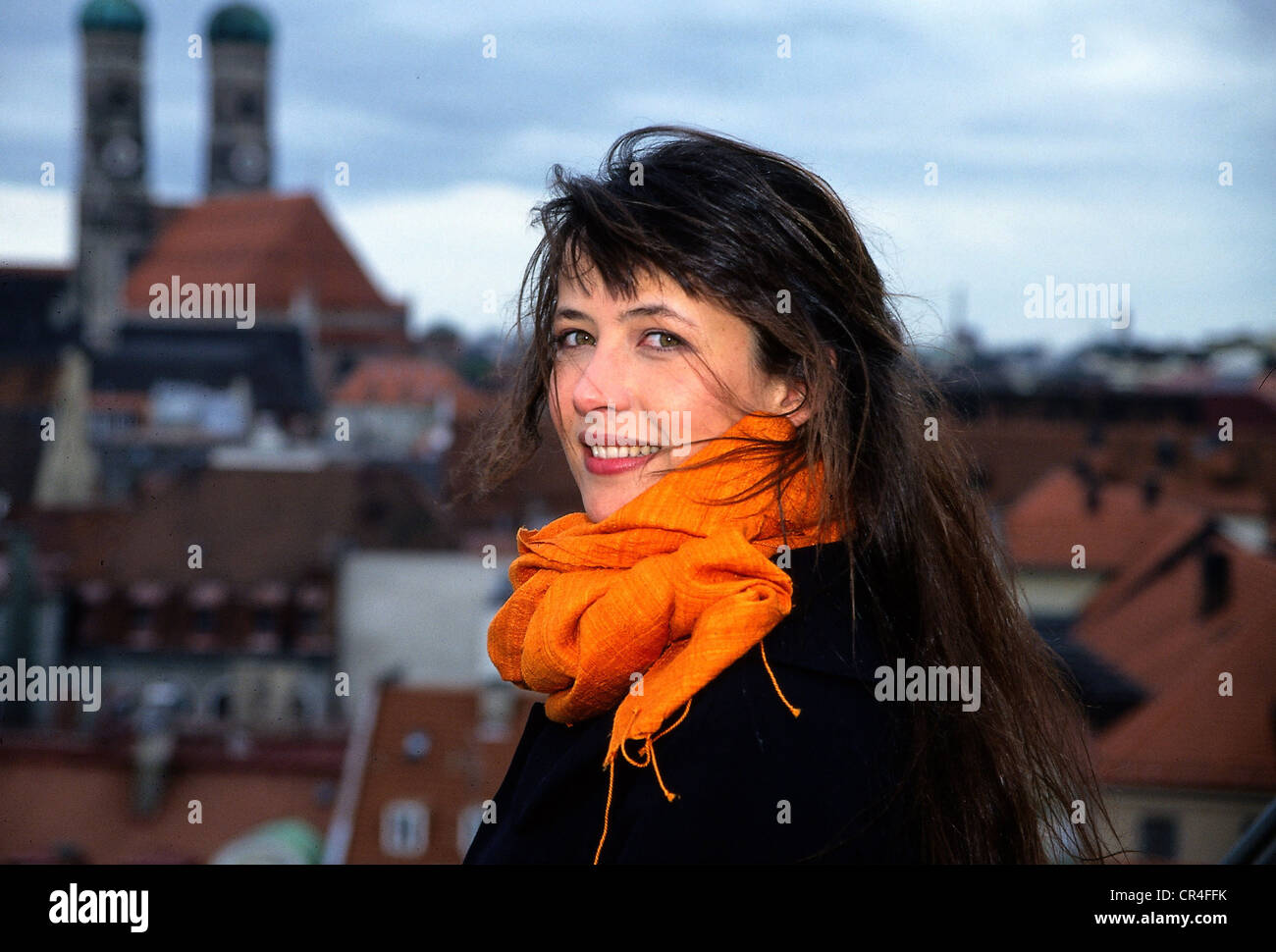 Marceau, Sophie, * 17.11.1966, French actress, portrait, in Munich, 1997, Additional-Rights-Clearances-NA - Stock Image