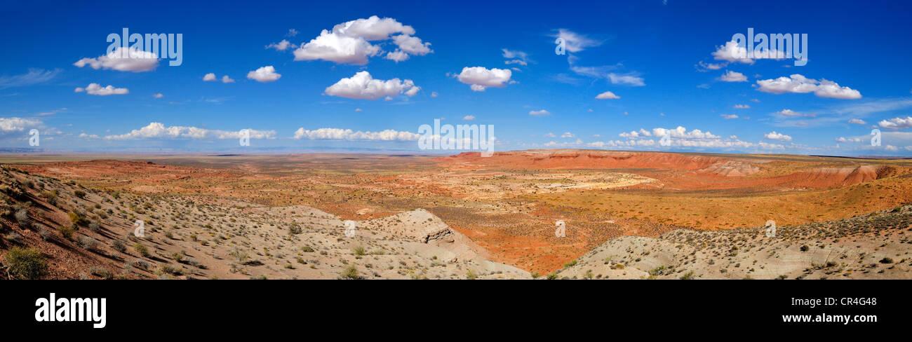 Wide open space of the San Rafael desert, Utah, USA, North America - Stock Image