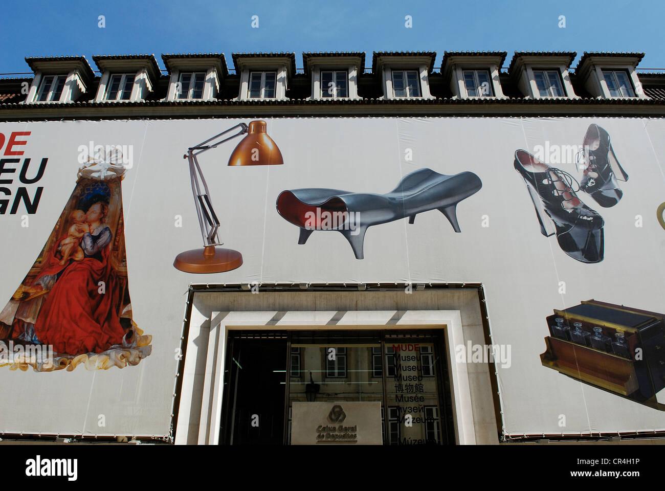Portugal Lisbon The Mude Design And Fashion Museum Rua Augusta 24 Stock Photo Alamy