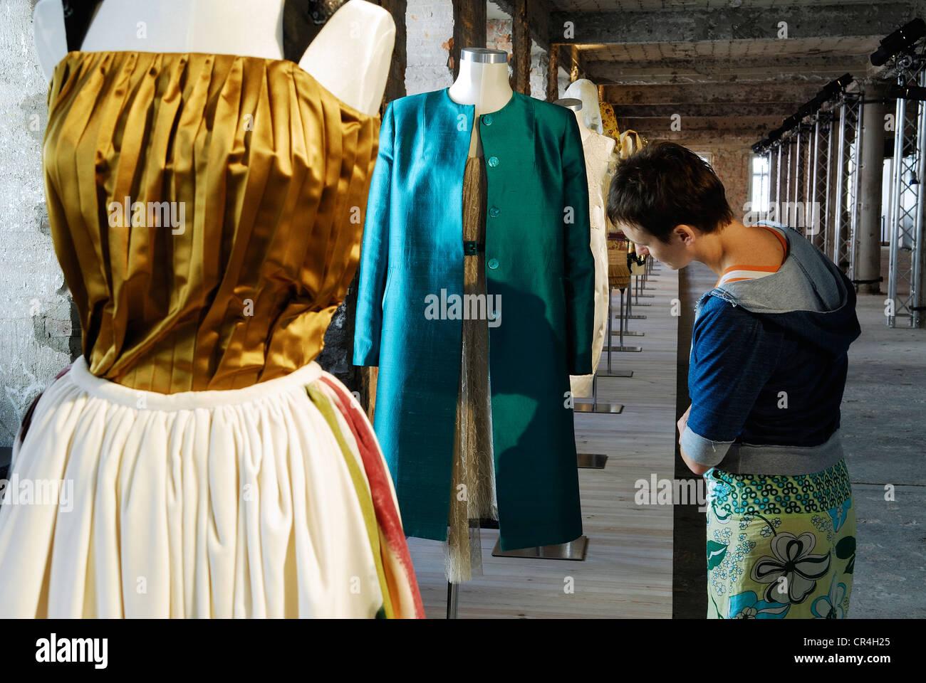 Portugal Lisbon Mude Design Fashion Museum Rua Augusta 24 Exhibition Stock Photo Alamy