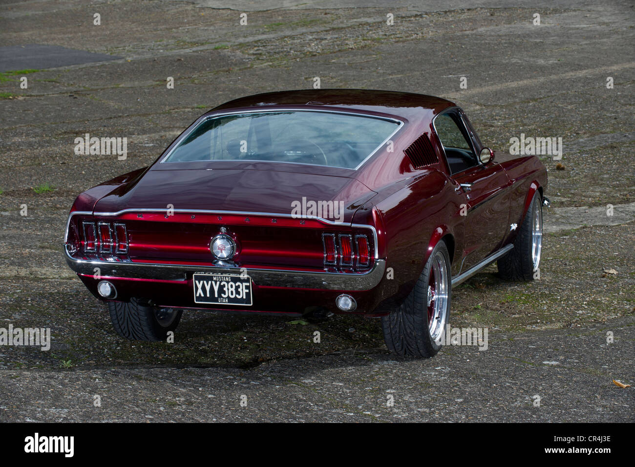 60s ford mustang fastback eleanor style shot on brooklands banking