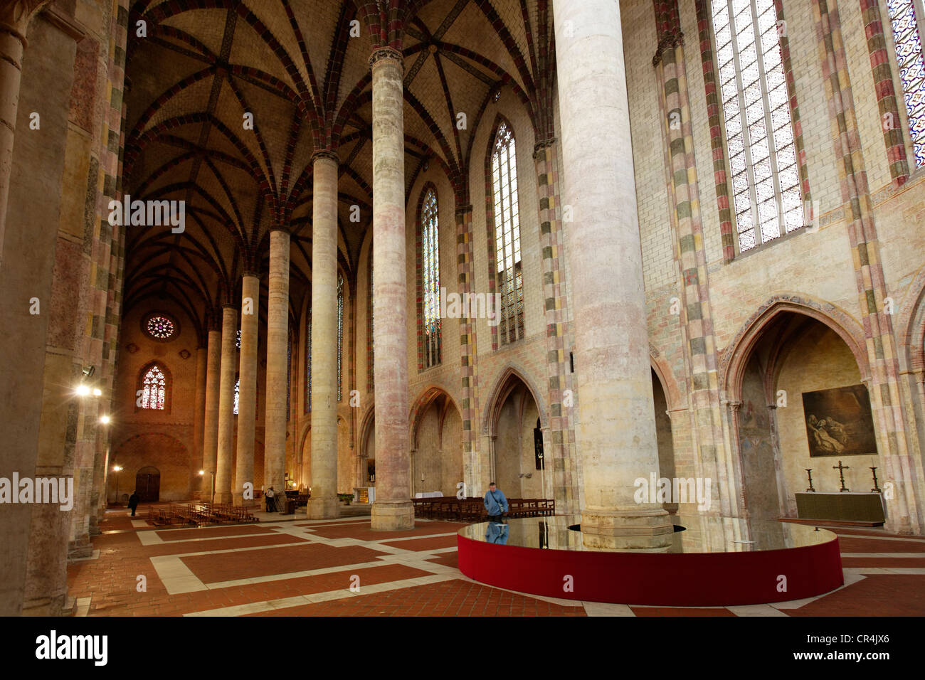 Church of the Jacobins, Haute-Garonne, Toulouse, France, Europe - Stock Image