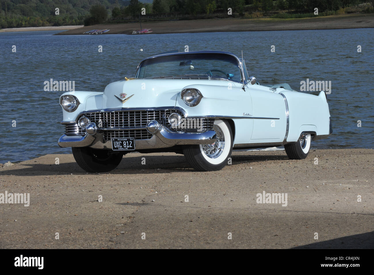 Classic Cadillac Stock Photos Images Page 1954 Sedan Deville Convertible American Car Image
