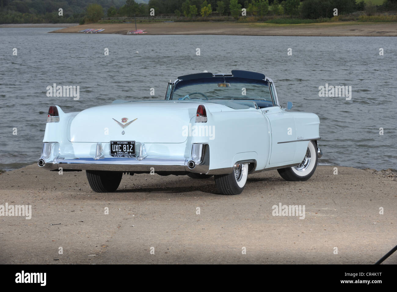 1954 Cadillac Stock Photos Images Alamy Coupe Deville Convertible Classic American Car Image