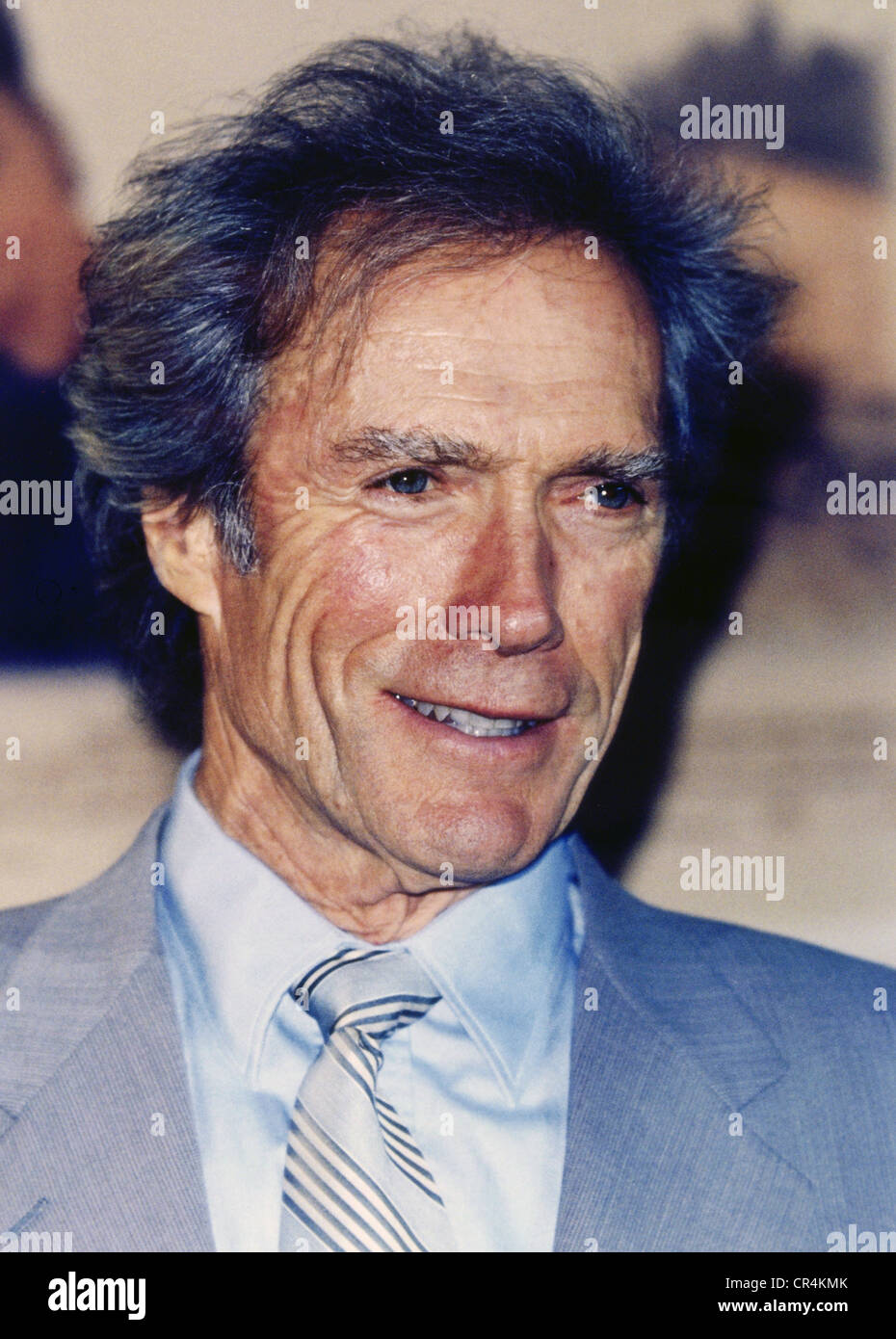 Eastwood, Clint, * 31.5.1930, American actor, portrait, Hamburg Film Festival, Germany, 19.9.1995, Additional-Rights - Stock Image