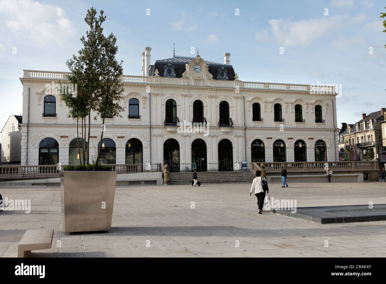 The theatre of Brive la Gaillarde, Correze, Limousin, France, Europe - Stock Image