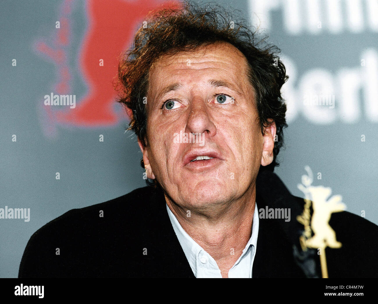 Rush, Geoffrey, * 6.7.1951, Australian actor, portrait, February 2001, 51st Berlin International Film Festival (Berlinale), - Stock Image