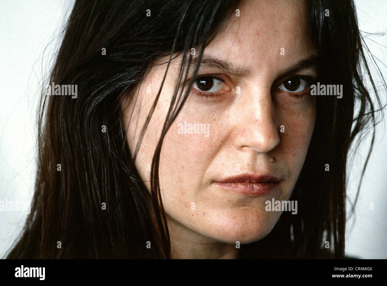 Winkler, Angela, * 22.1.1944, German actress, portrait, Munich, 1983, Additional-Rights-Clearances-NA - Stock Image