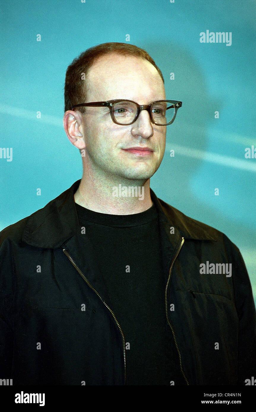 Soderbergh, Steven, * 14.1.1963, US director, portrait, International Film Festival, Berlin, 8.2.2001, Additional - Stock Image