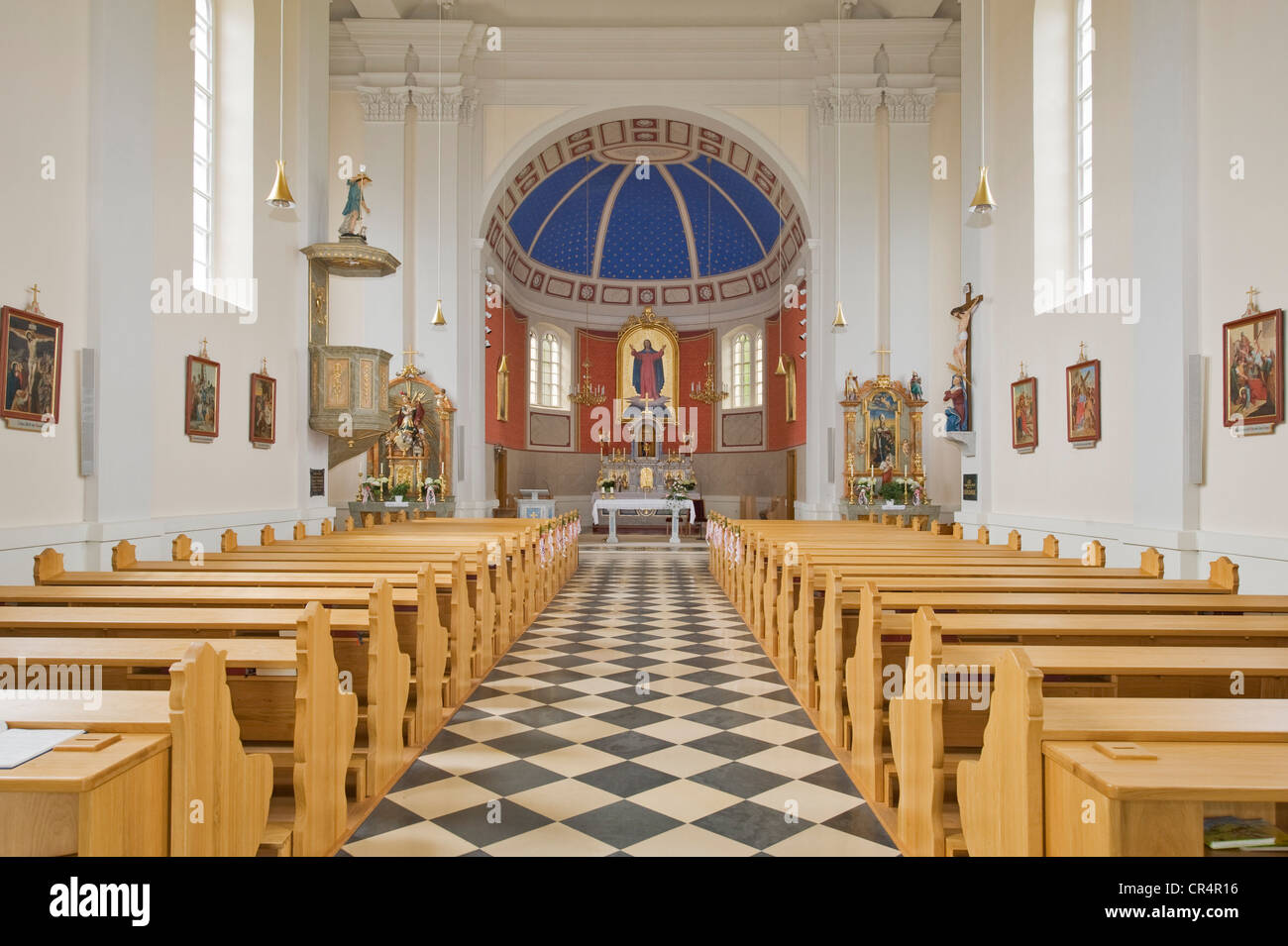 Pilgrimg Church of Our Lady of the Snows, Kaltenberg, Bucklige Welt, Lower Austria, Austria, Europe - Stock Image
