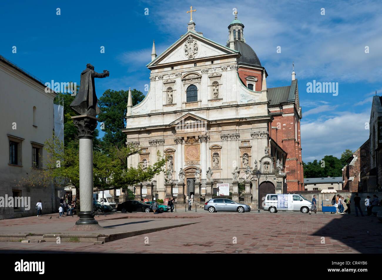 St. Peter and Paul Church, Krakow, Malopolska, Poland, Europe - Stock Image