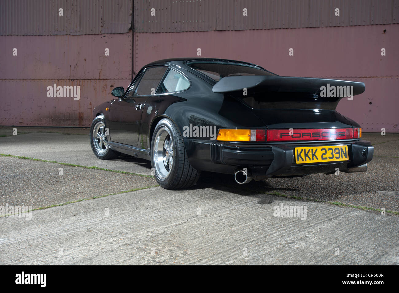 Porsche 911 German rear engine air cooled sports car - Stock Image