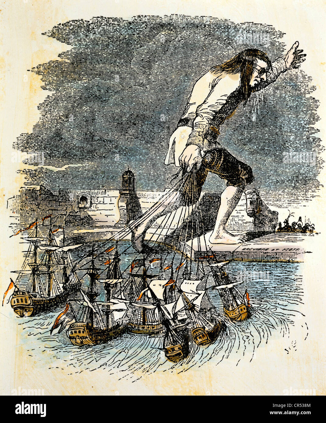 swifts main purpose in writing gullivers travels was to