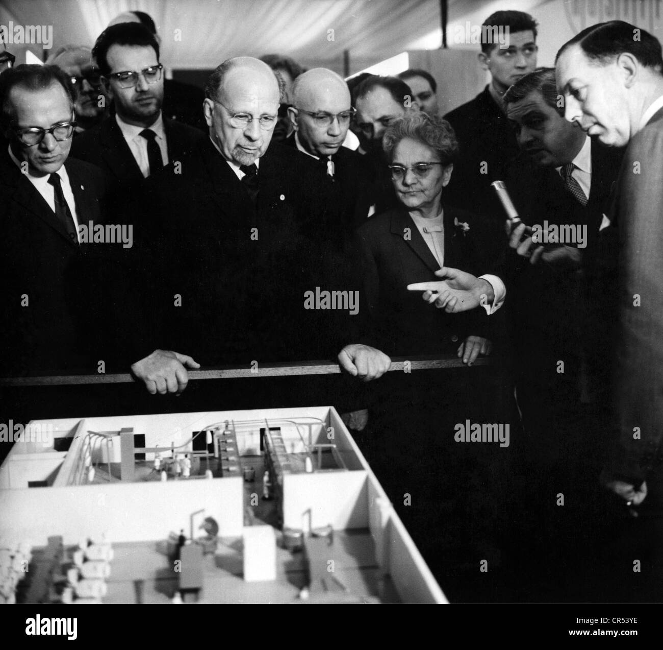 Ulbricht, Walter, 30.6.1893 - 1.8.1973, German politician (SED), Chairman of State Council of the German Democratic Stock Photo