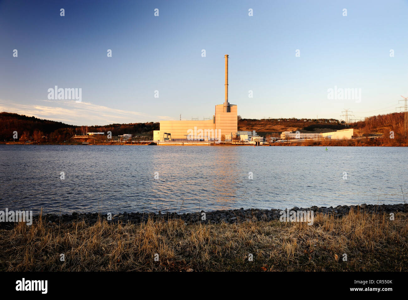 Kruemmel Nuclear Power Plant in Geesthacht, Schleswig-Holstein, Germany, Europe - Stock Image