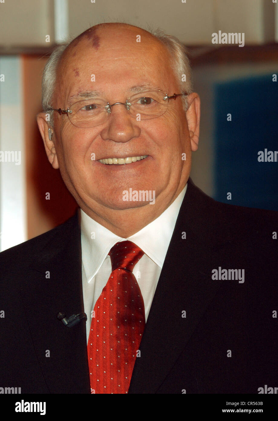Gorbachev, Mikhail, * 2.3.1931, Soviet politician (KPdSU), portrait, 2003, Additional-Rights-Clearances-NA - Stock Image