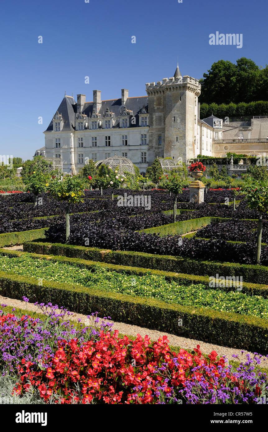 France, Indre et Loire, Loire Valley UNESCO World Heritage, chateau Stock Photo: 48673777 - Alamy