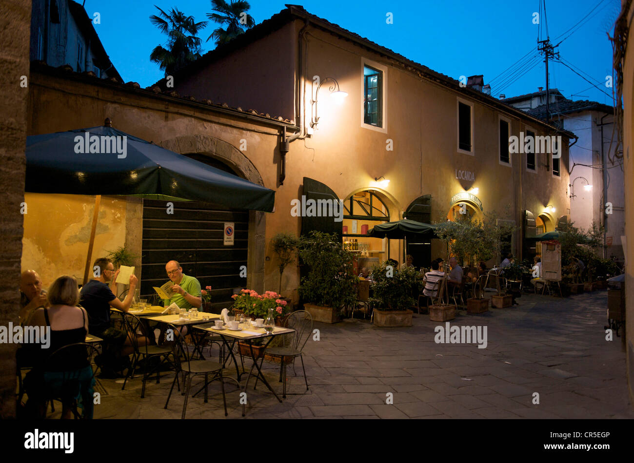Italy, Tuscany, Lucca - Stock Image