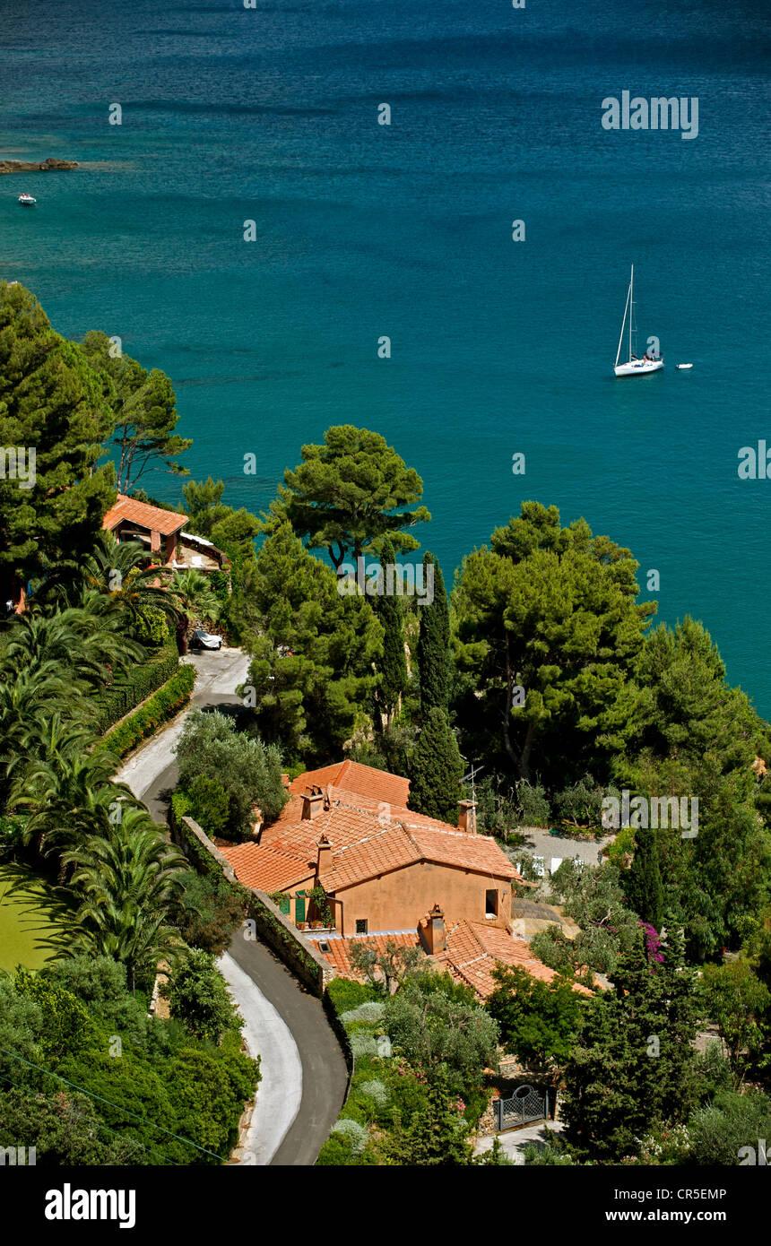 Italy, Tuscany, La Maremma, Monte Argentario - Stock Image