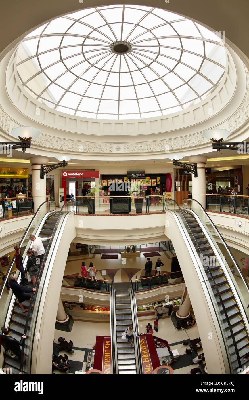 Meridian Shopping Mall, Dunedin, South Island, New Zealand - Stock Image