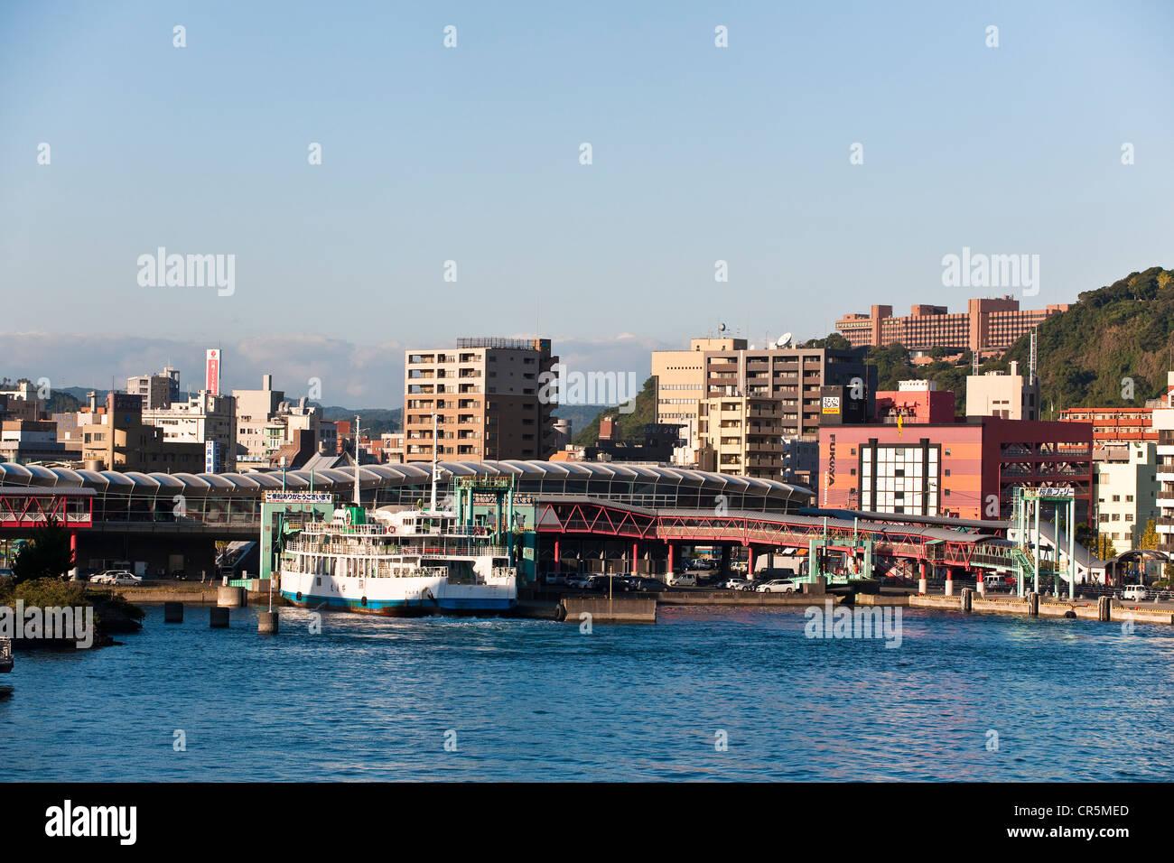 Japan, Kyushu Island, city of Kagoshima - Stock Image
