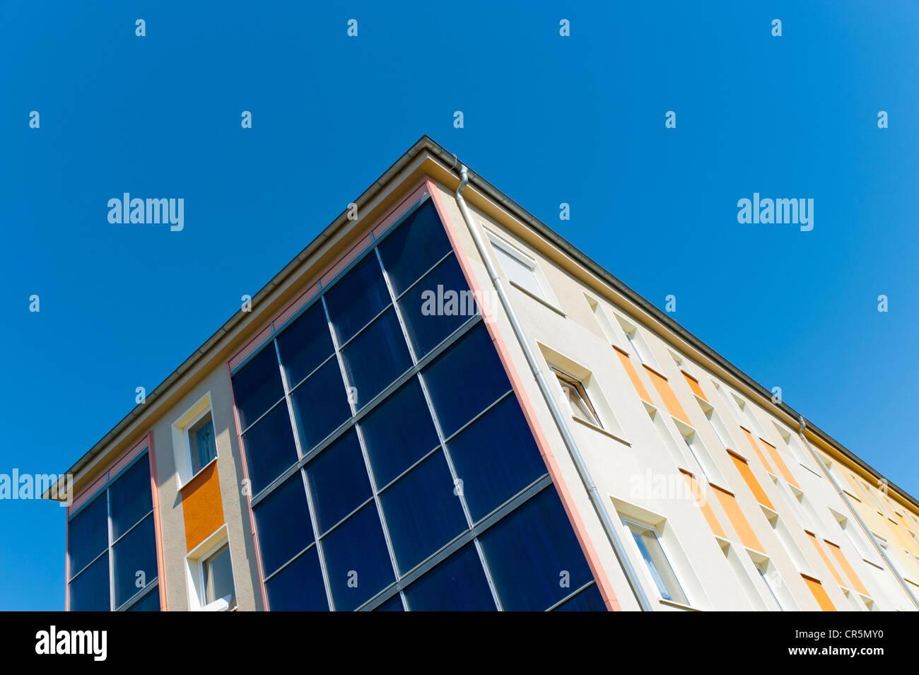 Panels On Building Facade Stock Photos & Panels On Building Facade ...