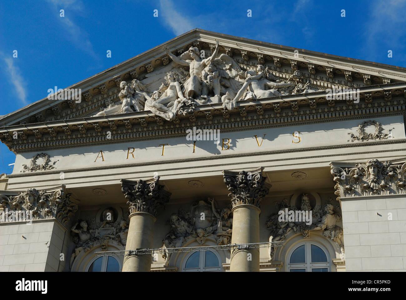 Poland, Warsaw, Zacheta National Art Gallery, pl. Malachowskiego 3 - Stock Image